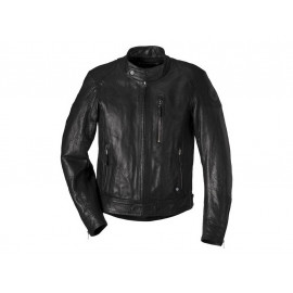 BMW Black Leather Motorradjacke Herren