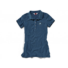 BMW Logo Polo Shirt Damen (Blau)