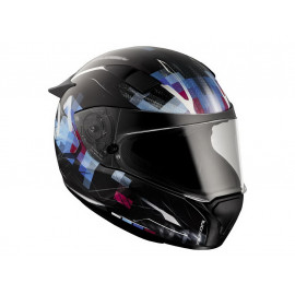 BMW Race Matrix Integralhelm (schwarz)