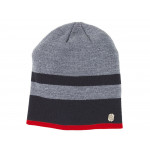 BMW Stripes Gorro (gris / negro)