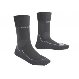 BMW Functional Socks Summer Unisex (anthracite / light grey)