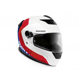BMW Helmet Street X Comp (white / red / blue)