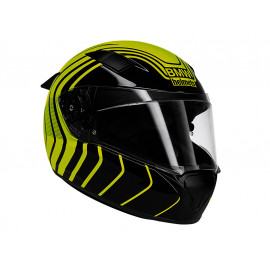 BMW Motorcycle Helmet Race Hyper (black / yellow)