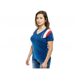 BMW Motorsport T-Shirt Dames (azul / blanco)