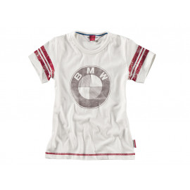 BMW T-Shirt Logo Kids (white)