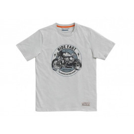 BMW T-Shirt Round Men (white)