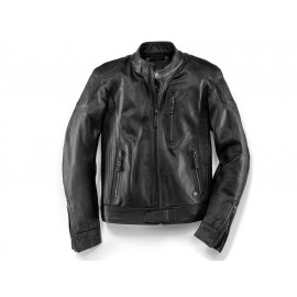 BMW BlackLeather Chaqueta de moto Caballero (negro)