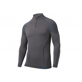 BMW Shirt Thermo Men (anthracite / blue)