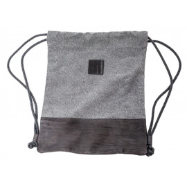 BMW Sac de Gym Canvas (noir / gris)