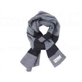 BMW Stripes Foulard (gris / noir)