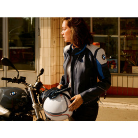 """BMW """"40 Years"""" Limited Edition Leather Jacket Women (blue / white)"""