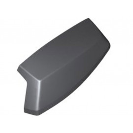 BMW Cover aperture (primed) right for Topcase C Evolution (2014-2016) C600Sport (2012-2015) C650 Sport (2016-2018) C650GT (2012-2018)