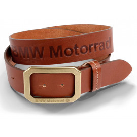 BMW Ceinture Leather Unisexe (marron)