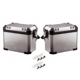 BMW Set de valises laterales en moto Aluminium R1200GS Adventure (serrure réglable  2006-2013)