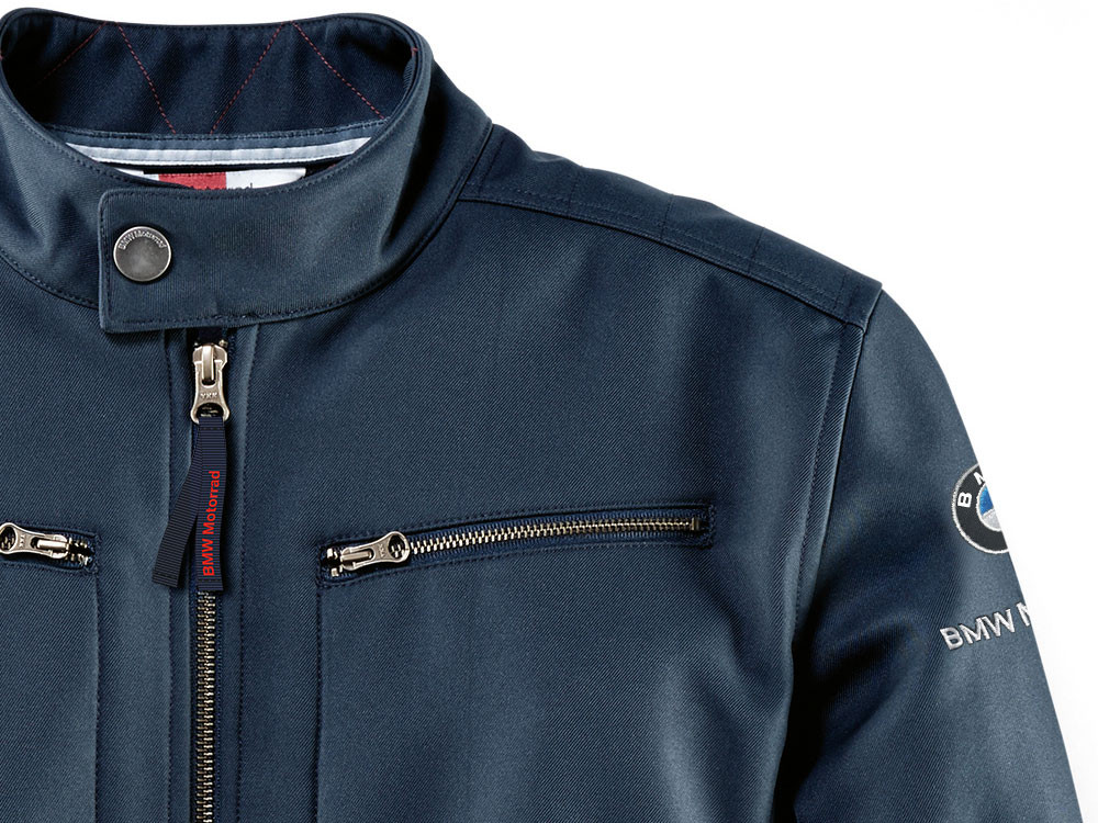 BMW Logo Softshell Jacket Men (Blue)