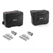 BMW Variosuitcase Set (black) F750GS (2017-2019) F850GS (2017-2019) (Keyless Ride)