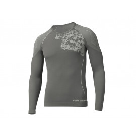 BMW Shirt Summer Men (grey / anthracite)