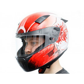 BMW Race Ignition Casco integrale (rosso)
