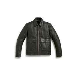 BMW Leather Jacket Engineer Men (black)
