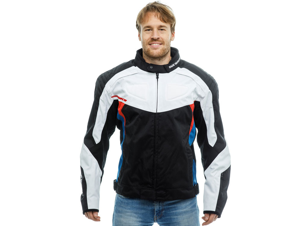 BMW Race Motorcycle Jacket Unisex (back / white)