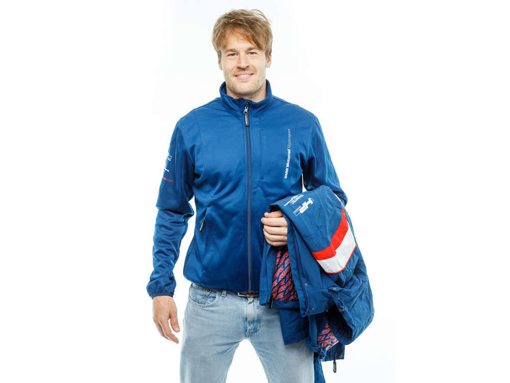 BMW Motorsport Leisure Jacket Unisex (blue / white)