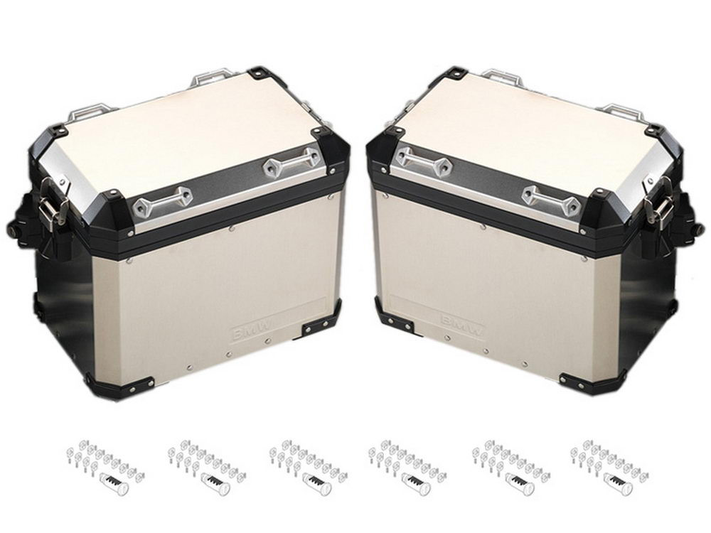 BMW Motorcycle Pannier Set Aluminium R12000GS (K50 2017-) R1200GS Adventure (K51) codeable