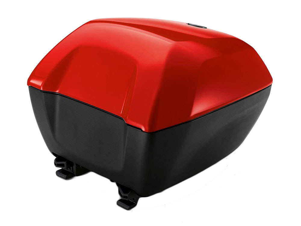 BMW Top Case 2 Small (Racing Red) R1200R (K53) S1000XR (K49) codeable