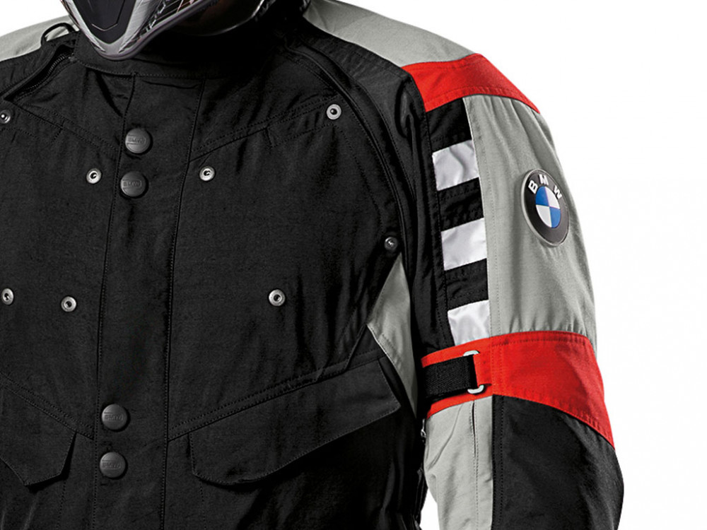 BMW Rallye 2016 Motorcycle Jacket Men (black/red)