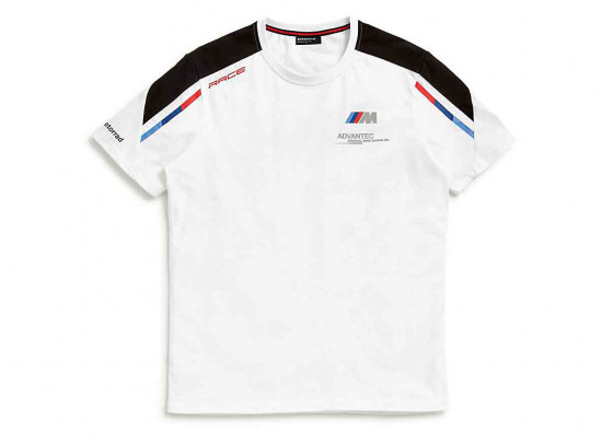BMW T-Shirt Motorsport Men (white / black / red / blue)
