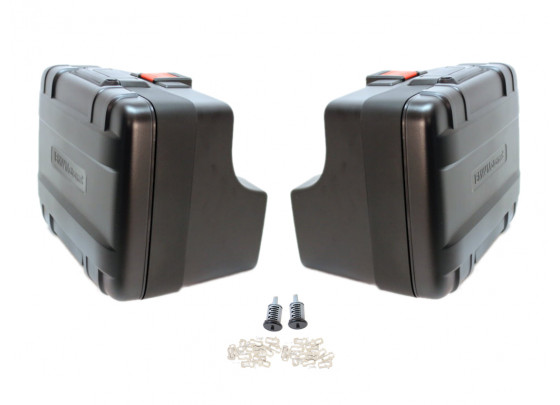 BMW Motorcycle Pannier Set Vario F800GS / F700GS / F650GS (twin) codeable
