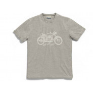 BMW T-Shirt Biker Men (grey)