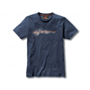 BMW Make Life a Ride T-Shirt Men (blue)