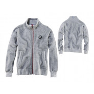 BMW Logo Sweatshirt Jacket Unisex (Grey)