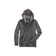 BMW Hooded Sweatshirt Vintage Men (dark grey)
