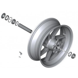 BMW Forged Rear Wheel without Attachment Part S1000R (K47) S1000RR (K46) HP4 (K42)