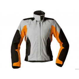 BMW Streetguard 3 Motorcycle Jacket Lady (black/grey/orange)