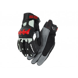 BMW Motorcycle Gloves Rallye (black / red)