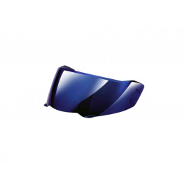 BMW Blue mirrored visor with inner visor Carbon 7 Helmet