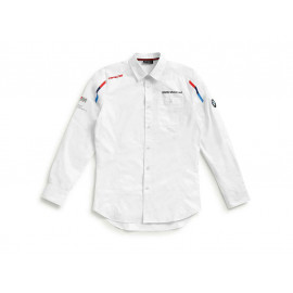 BMW Long Sleeve Shirt Motorsport Men (white / red / blue)