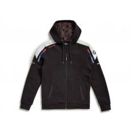 BMW Hooded Jacket Motorsport Unisex (black / white / red / blue)