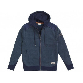BMW Hoodie Marl Men (dark blue)