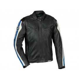 BMW Club Leather Motorcycle Jacket Men