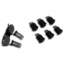 BMW Key Lock Set for Aluminium Pannier R1200GS Adventure (K25 -2013)