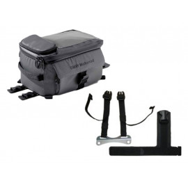 BMW Tank Bag with Connection (small) (grey / black) F900R (2020-) F900XR (2020-) S1000XR (2015-2019)