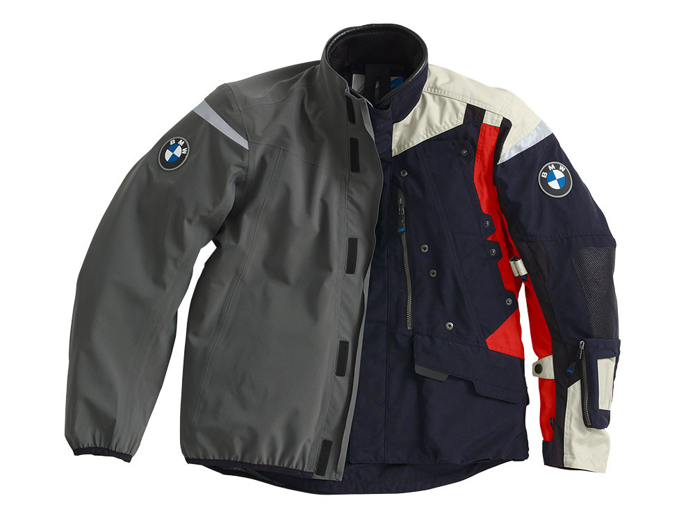 bmw rallye 2018 motorcycle jacket men dark blue red buy cheap 76 11 8 395 056 main. Black Bedroom Furniture Sets. Home Design Ideas