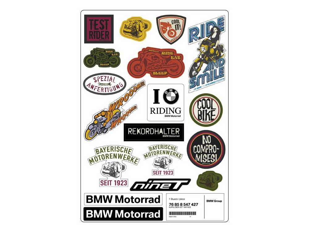 Bmw Vintage Sticker Set Buy Cheap 76 85 8 547 427