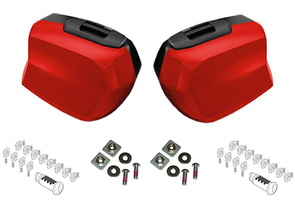 bmw touring suitcase set f900xr (2020) (racing red)   buy