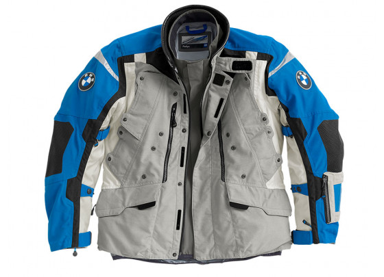 BMW Rallye 2018 Motorcycle Jacket Men (grey / blue)