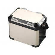 BMW Motorcycle Pannier Aluminium (right side) R1200GS (K50 2017-)  R1200GS Adventure (K51) R1250GS (K50) R1250GS Adventure (K51)