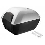 BMW Top Case 2 Small (Granite Grey) R1200R (K53) S1000XR (K49) codeable